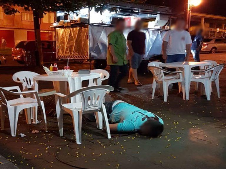 Homem é executado a tiros enquanto lanchava em Umuarama