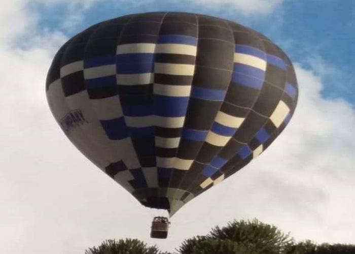 Balão com 13 pessoas cai e deixa feridos em Toledo