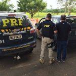 PRF recupera em Alto Paraiso veículo roubado no estado do Rio Grande do Sul
