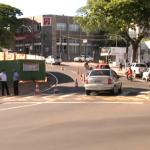 Umutrans se pronuncia sobre via interditada para reformas da Praça Santos Dumont