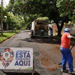 Micropavimentação é finalizada nos bairros Alvorada e São Gaetano