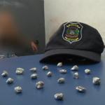 Guarda Municipal apreende adolescente por tráfico de drogas em Umuarama