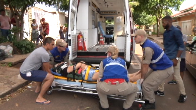 Bombeiros atendem dois acidente quase que simultâneos em Umuarama