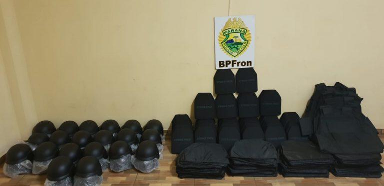 Material que poderia ser utilizado para resgate de presos é apreendido em Guaíra