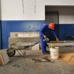 Escolas municipais recebem reparos durante o período de férias
