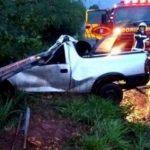 Motorista morre após acidente entre Terra Roxa e Francisco Alves