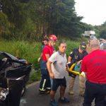 Motorista morre e três pessoas ficam feridas em acidente grave na PR-441