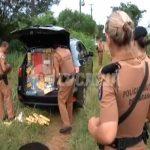 Polícia recupera veículo furtado carregado com cigarros contrabandeados