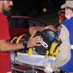 Mulher fica ferida após queda de bicicleta em Umuarama