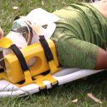 Motociclista fica gravemente ferido após bater contra ônibus em Umuarama