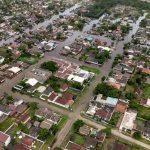 Chuva forte deixa famílias desalojadas em Guaratuba