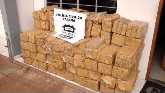 Polícia Civil apreende mais de uma tonelada e meia de maconha em Umuarama