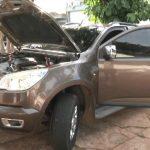 PM apreende droga e recupera caminhonete com alerta de furto