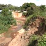 Cratera coloca residências no jardim Porto Belo em risco