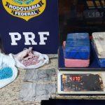 PRF prende rapaz transportando cocaína, LSD e ecstasy
