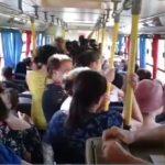 Moradores de Serra dos Dourados reclamam de superlotação em ônibus