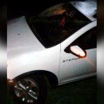 Mulher fica ferida após veículo capotar na rodovia próximo a Serra dos Dourados