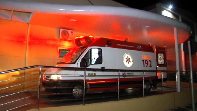 Gestante e filho ficam feridos após acidente em Umuarama