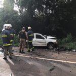 Terceira vítima de acidente na PR-323, criança não resiste e morre no hospital