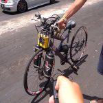 Jovem de Icaraíma faz sucesso na internet com bicicleta personalizada