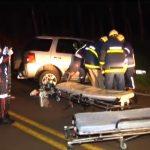 Motorista tem ferimentos graves após acidente na PR-489