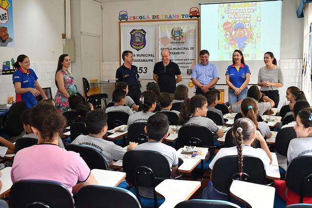 Escola de Trânsito inicia novo ciclo com alunos do 4º ano