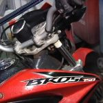 Moto furtada é recuperada horas após o crime em Umuarama