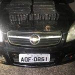 PRE encontra carro abandonado carregado com 31 quilos de maconha