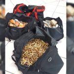 Drogas e munições que seriam levadas para o Rio de Janeiro são apreendidas em oficina mecânica