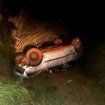 Cinco pessoas, sendo duas crianças, ficam feridas após acidente em São Jorge do Patrocínio