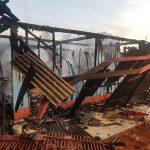 Homem coloca fogo na própria casa após brigar com esposa