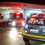 Homem atira contra paciente e acaba atingindo enfermeiros em Cidade Gaúcha