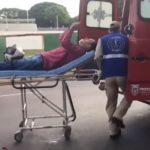 Motociclista fica ferido após sofrer queda de moto em Umuarama