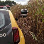 Polícia Militar recupera carro roubado em Moreira Sales