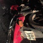 Motociclista morre após colidir contra carro parado na PR-323