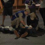 Acidente entre caminhonete e moto deixa uma pessoa ferida em Umuarama