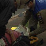 Ciclista fica ferido após acidente na PR-580