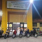 Blitz em Umuarama resulta em 30 notificações e a apreensão de motos