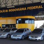 PRF apreende seis carros durante ação de combate ao contrabando no Paraná