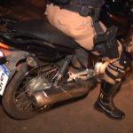 Polícia Militar recupera moto furtada e prende casal em Umuarama