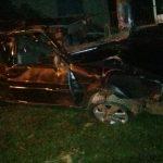 Jovem morre após veículo capotar entre Douradina e Ivaté