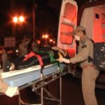 Acidentes simultâneos deixam feridos em Umuarama