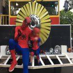 Homem-Aranha tem moto furtada em Umuarama