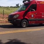 Motociclista fica ferido após colidir na traseira de picape na PR-489