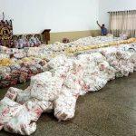 Engenharíadas arrecadam 12 toneladas de alimentos para entidades de Umuarama