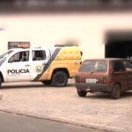 Câmera de segurança flagra ação de criminoso durante assalto em Umuarama