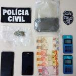 Polícia apreende drogas importadas e inéditas em Cianorte