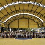 Escola Municipal Paulo Freire ganha quadra esportiva coberta