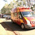 Adolescente fica ferida após cair da garupa da moto do pai na PR-323