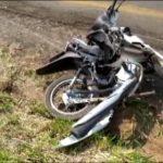 Motociclista de Umuarama morre após colisão frontal na PR-482